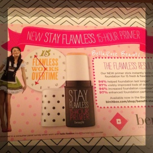 Benefit Stay Flawless Primer Promo, 1